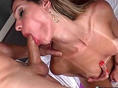 beautiful hard anal in execution of the beauty with a dick