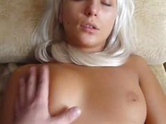 blond darling suck your favorite guy